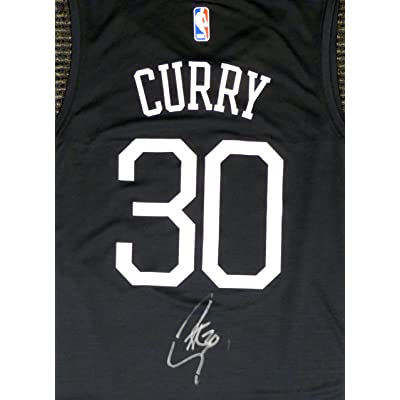 new arrival 4678a 4bd7e Golden State Warriors Stephen Curry Autographed Fanatics The ...
