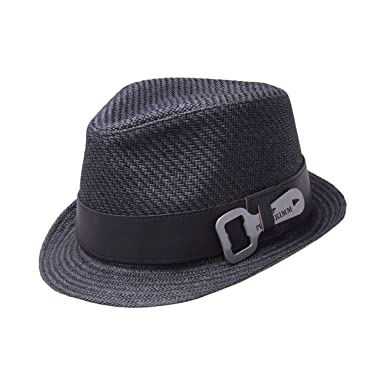 927f7d83594 Amazon.com: Peter Grimm Luke Toyo Straw Fedora Bottle Opener Hat ...