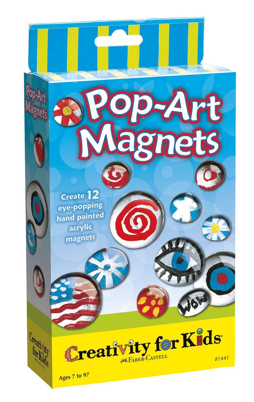 Amazon.com: Creativity for Kids, Pop-Art Magnets, Acrylic Magnets ...