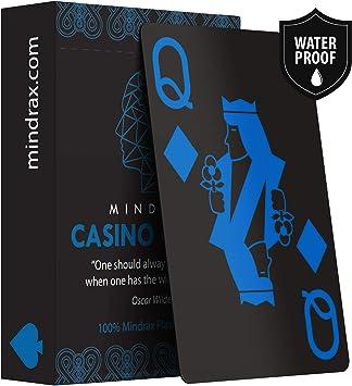 Mindrax Wasserfeste Designer Spiel Karten Poker Texas