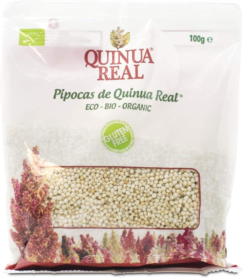 Quinoa real hinchada (pipocas) BIO sin gluten - Quinua Real ...