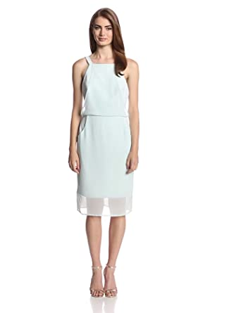 findersKEEPERS Women's New Start Dress, Arctic Blue, Small