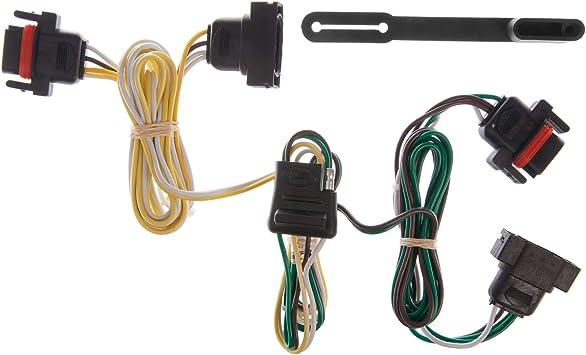 Amazon.com: CURT 55323 Vehicle-Side Custom 4-Pin Trailer Wiring Harness for  Select Chrysler, Dodge, Mitsubishi, Plymouth Vehicles: AutomotiveAmazon.com