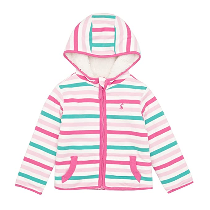 41013b8cd48f Joules Baby Infant Girls Mauve Multi Striped Cosette Reversible ...