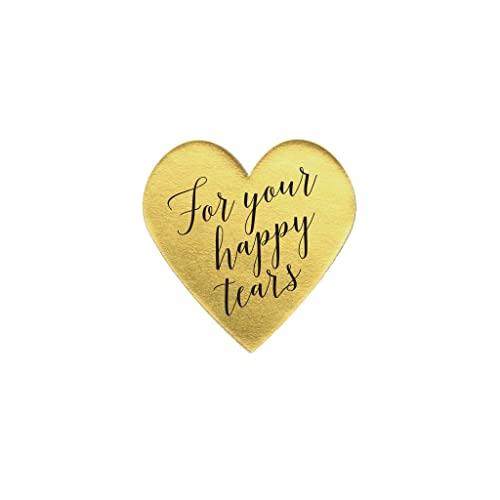Gold wedding labels 1 5 sticker wedding for your happy tears sticker gold