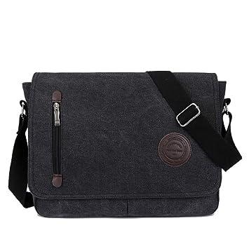 e458af8cb8 Super Modern Unisex Vintage Canvas Shoulder Bag Shoulder Bag Messenger Bag  For Work Uni Travel Sports