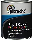 Albrecht Smart Color - Magnetfarbe 750ml, 1 Stück, Dunkelgrau, 3400606900000000750