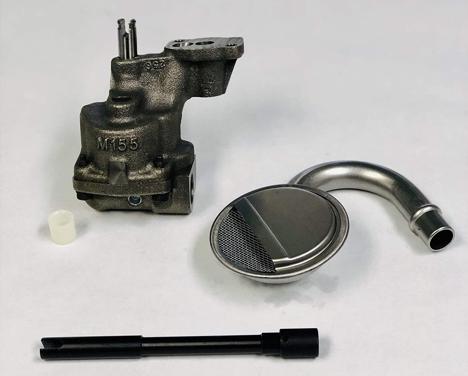 Screen /& ROD Kit 1968-1994 Chevy SB 350 305 With 5//8 Inlet High Pressure Pump High Pressure Oil Pump