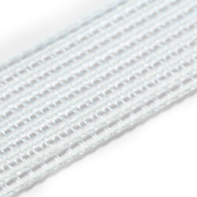 Prym 957134 Kr/äusel-Elastic 25 mm wei/ß 2m-Karte