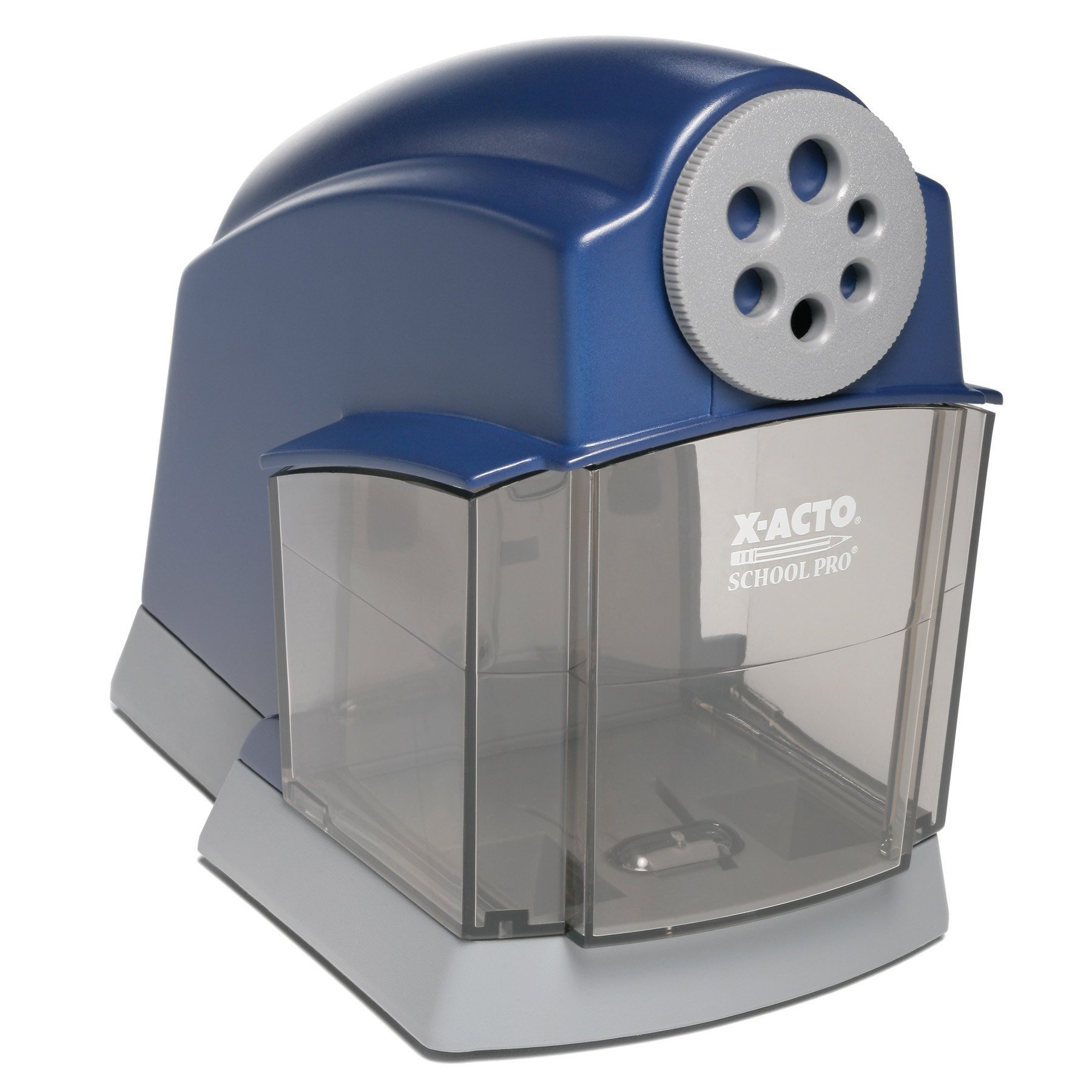 X-ACTO School Pro Classroom Electric Pencil Sharpener, Blue, 1 Count by X-Acto