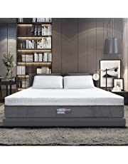 BedStory Mattress, Luxury Memory Foam Double Mattress, Premium Support Medium Firm Bed Mattress - CertiPUR-US Certified