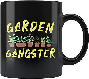 Gardening Mug, Gardening Gift, Gardener Gift, Gardener Mug, Planting Gift, Planting Mug, Farmer Gift, Farmer Mug, Garden Gangster Mug 11oz
