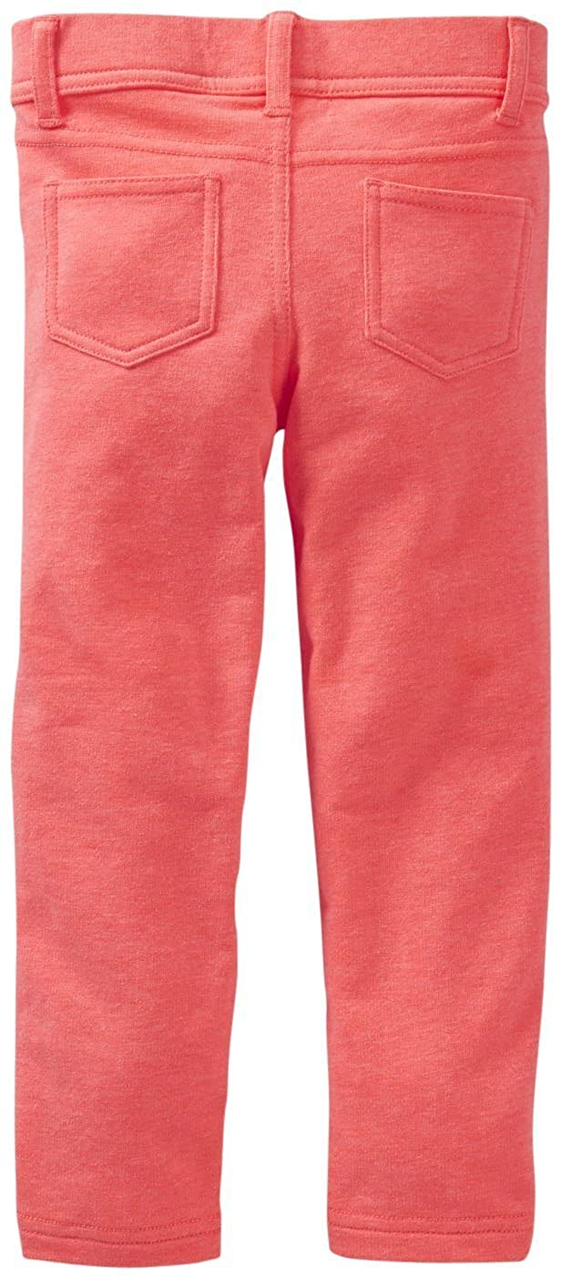 75a612c437b98 Amazon.com: Carter's Baby Girls' French Terry Jeggings (Baby): Clothing