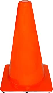 product image for 3M 90128-4PK, 18-in. Professional Quality Non Reflective Safety Cone, 4-Pack