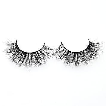 c0792b19e93 Amazon.com : Visofree Eyelashes Natural 3D Mink Lashes Handmade Full Strip  Lashes/False Eyelashes : Beauty