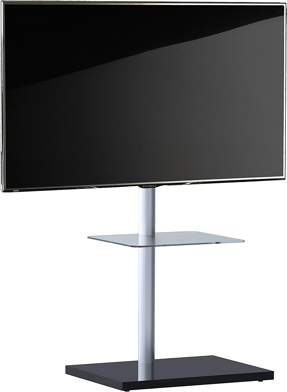 VCM Nalano - Soporte para televisor (Aluminio y Cristal, con Base Intermedia): Amazon.es: Hogar