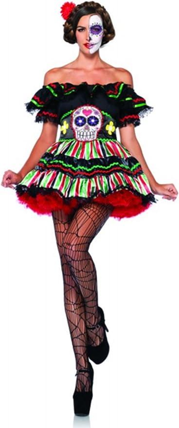 Disfraz de muñeca de Day of the Dead Dia de los muertos Mexico ...