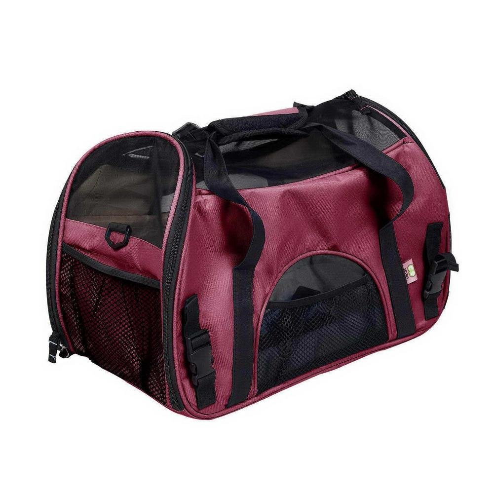 Pet Travel Carrier/ Soft Sided with,Convenient Side Pockets Perfect Handbag, Open Network Window,Portable Soft-sided Bags for Dogs Cats and Other Animals (482432CM) , 2 , s