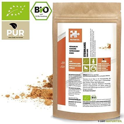 natural notebook – Bio Anís estrellado gemahlen | Star Anise Ground Organic, especias en calidad