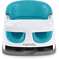 Ingenuity Baby Base 2-in-1 Seat – Peacock Blue - Booster Feeding Seat