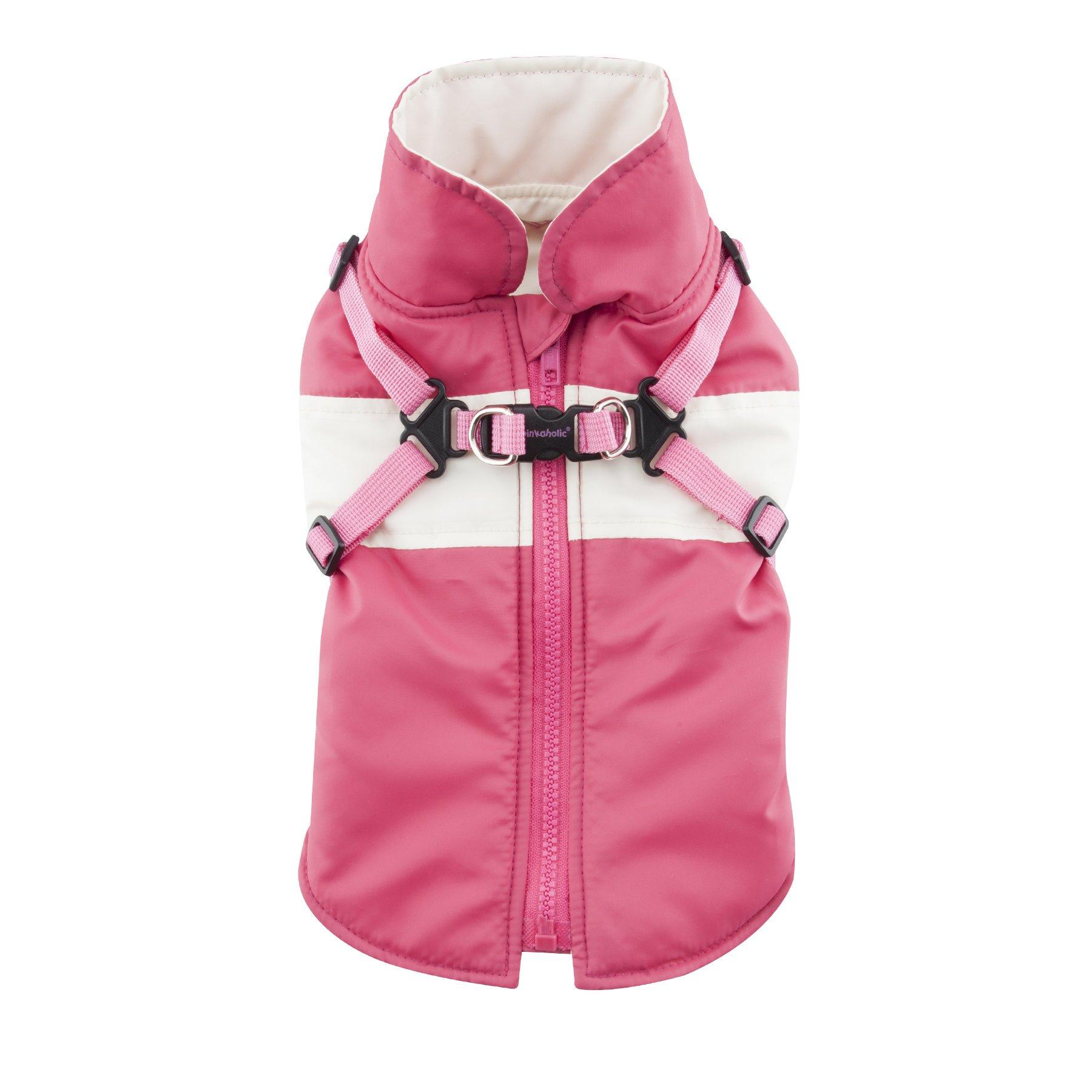 Pinkaholic New York Aiden Winter Fleece Vest, Medium, Pink