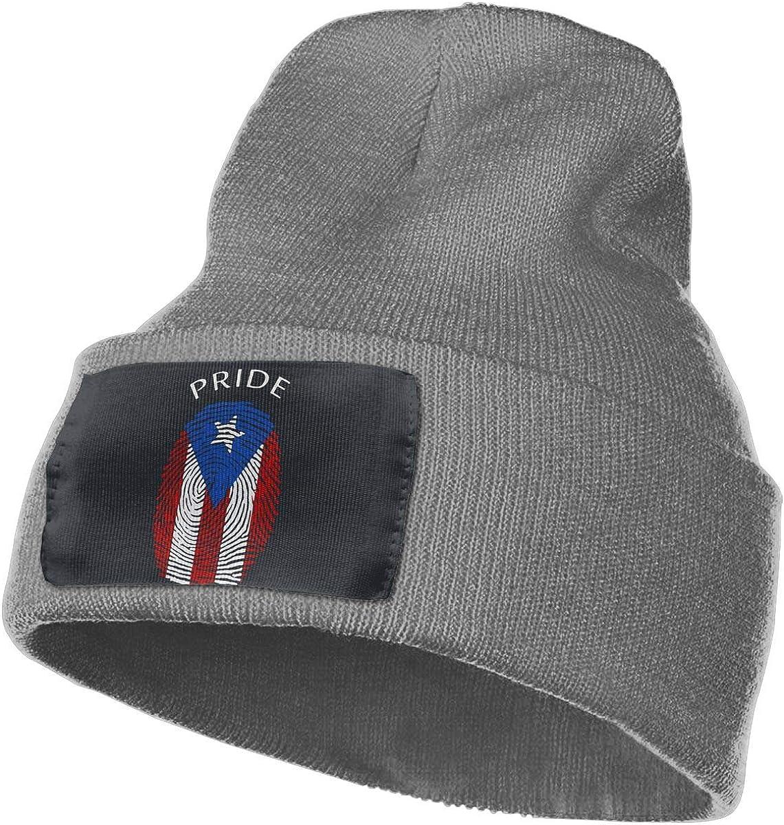 MaoXCatt Puerto Rican Pride Unisex Winter Comfortable Beanie Cap