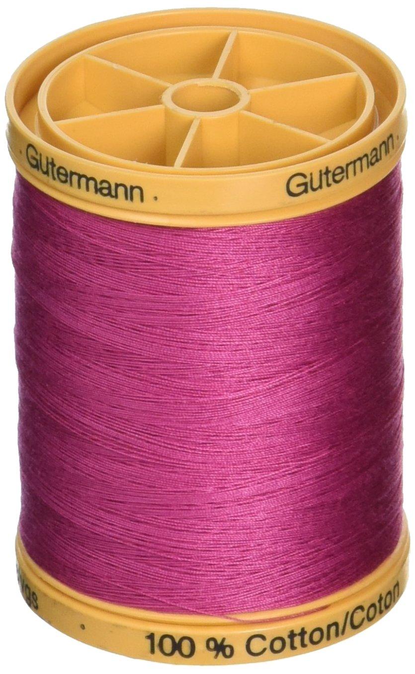 Gutermann Natural Cotton Thread Solids 876yd Bark Brown