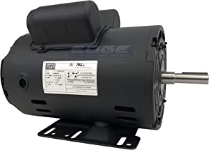 "NEW 3HP Electric Motor for air Compressor 3455 RPM 5/8"" Shaft 14.7 AMP 56 FRAME Heavy Duty"