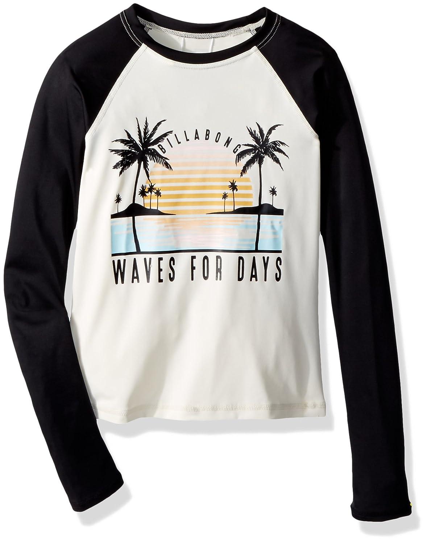 Billabong Girls' Waves for Days Long Sleeve Rashguard YR03QBWA