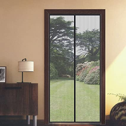 Charmant Flyzzz Magnetic Fly Screen Door Net, Magnet Pieces Closing Screen Door,  Hands Free And
