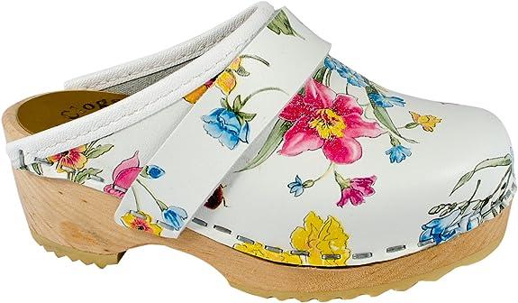 Original Schwedenclogs Damenclogs, Sandalette, Summerflower