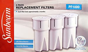Sunbeam P1000 Replacement Water Filters (3 Pack)