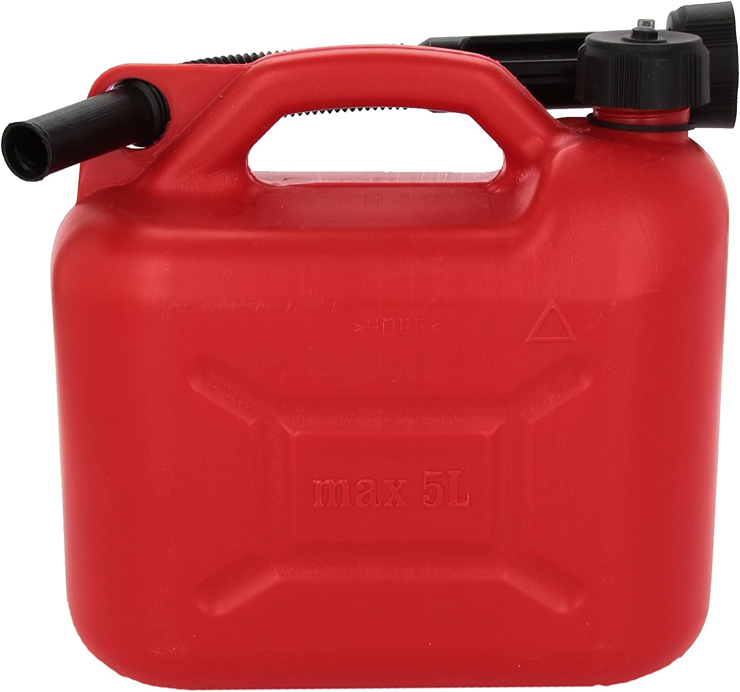 Bottari SpA 28062 Fuel Can with Spout Homologated 10 L