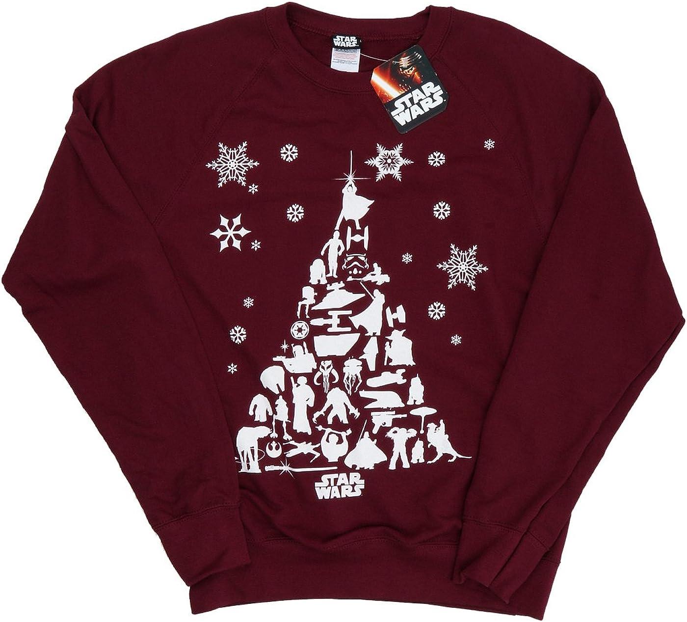 STAR WARS Femme Christmas Tree Sweat-Shirt