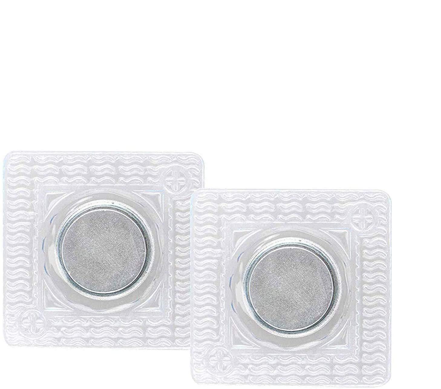 EEEKit Hidden Sew Magnetic Snap, 20 Pairs Invisible Hidden Sew in PVC Hidden Purse Closure Fastener Magnetic Snap Magnet Fastener for Handbag Clothing