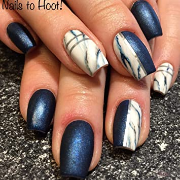 Natural Coffin Fake Nails