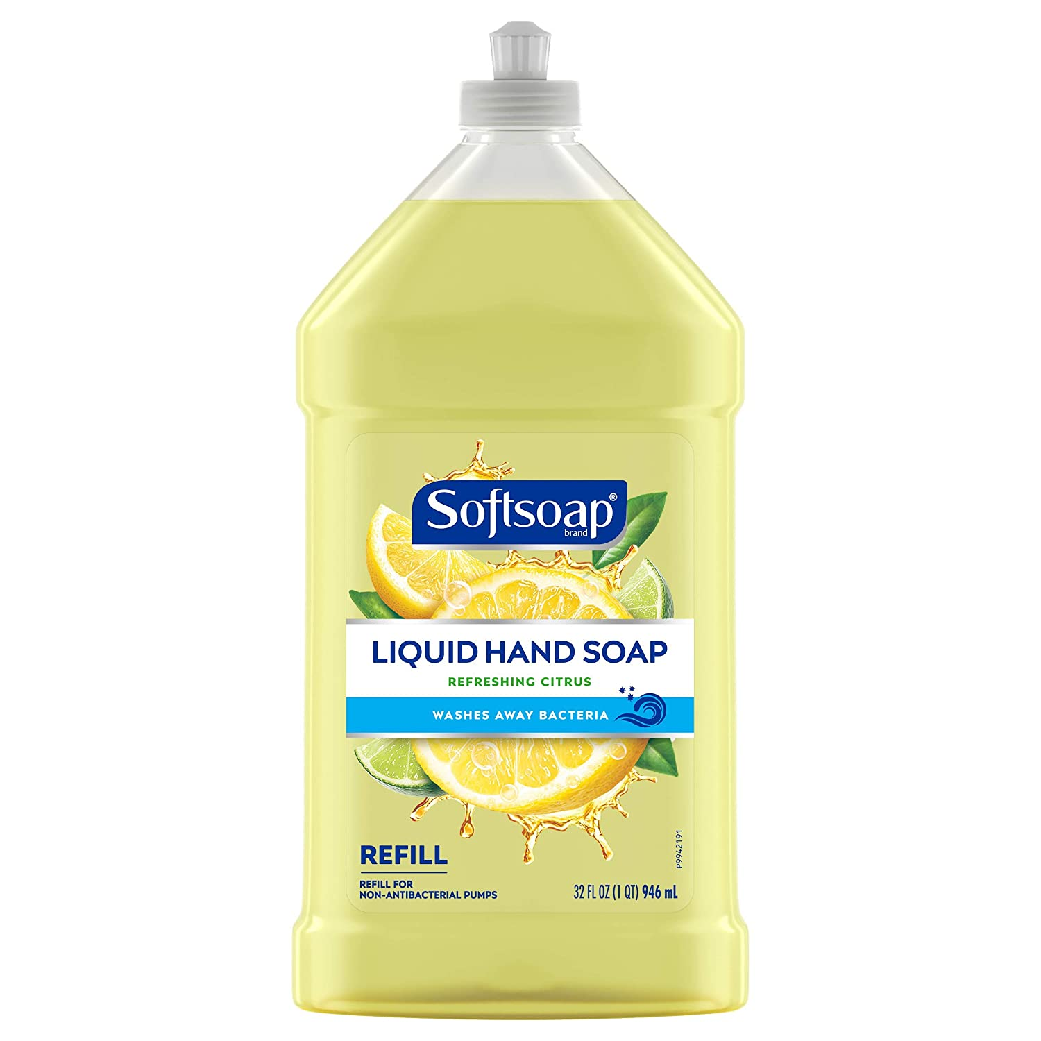 Softsoap Liquid Hand Soap Refill, Refreshing Citrus with Lemon Scent - 32 Fluid Ounce: Beauty