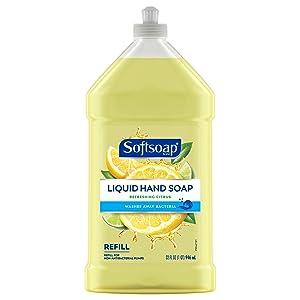 Softsoap Liquid Hand Soap Refill, Refreshing Citrus - 32 fluid ounces