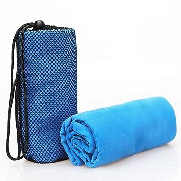 1Pieza 70 x 130 cm Talla más grande deportes toalla con bolsa de microfibra Gimnasio toalla natación viaje essiential 4 colores: Amazon.es: Deportes y aire ...