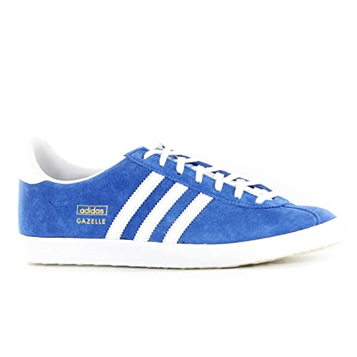 new product 1d366 5f22b adidas Gazelle OG Blue White Mens Trainers  Amazon.co.uk  Shoes   Bags
