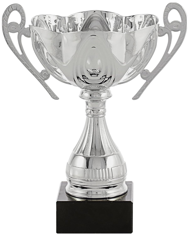 Art-Trophies TP196 Trofeo Deportivo, Plata, 18 cm TP196-4