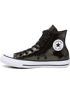 Converse Womens Chuck Taylor All Star Metallic Snake Hi Fashion Sneaker