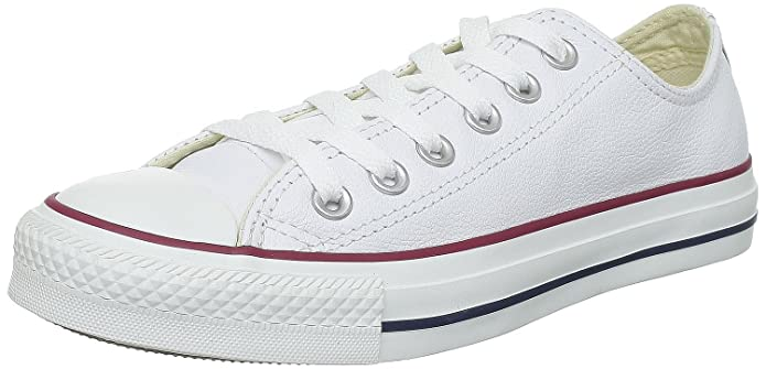 Converse Chucks Chuck Taylor All Star Low Top Sneaker Damen Herren Unisex Weiß