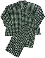 Hanes - Mens Long Sleeve Broadcloth Pajamas