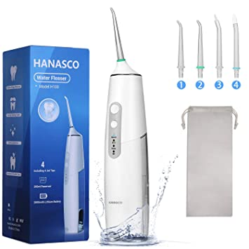 Best Cordless Water Flosser 2021 Amazon.com: Cordless Water Flosser 6 Modes & 4 Jet Tips   [NEWEST