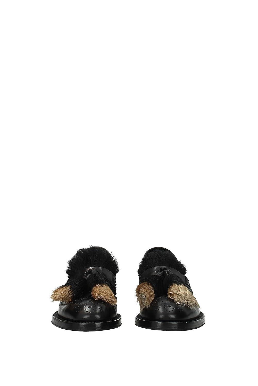 Mocasines Prada Mujer - Piel (1D876HNERO) 39 EU: Amazon.es: Zapatos y complementos