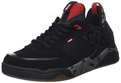 Globe Tilt Evo Mens Skate Trainers in Black Red - 9 UK
