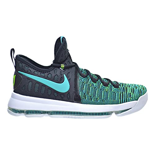 new concept 44a48 44d49 ... sale amazon nike zoom kd 9 mens basketball shoes clear jade black 843392  300 basketball 1d26f