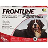 Frontline Plus for Dogs Extra Large Dog (89 to 132 pounds) Flea and Tick Treatment, 6 Doses