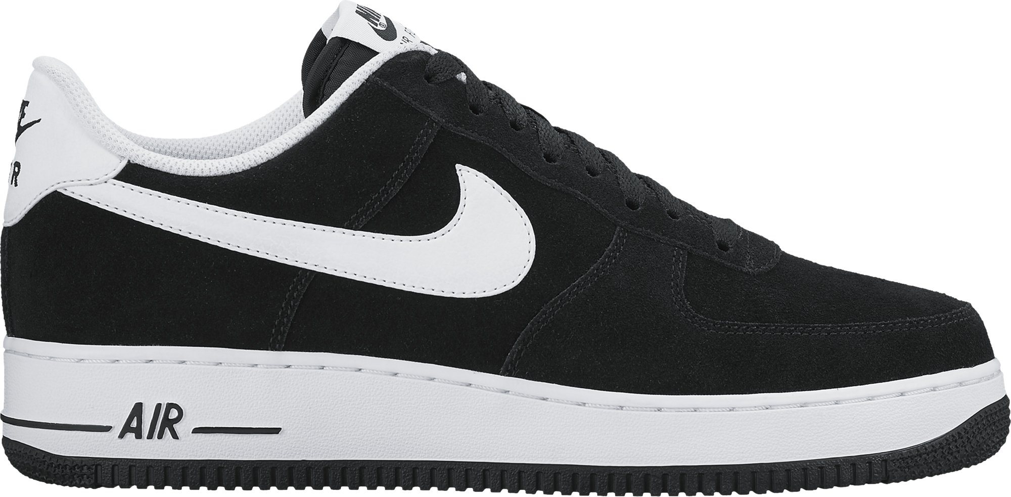 the latest e57f3 564b6 Galleon - NIKE Mens Air Force 1 Low 07 Basketball Shoes Black White  315122-068 Size 8